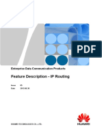 Enterprise Data Communication Products Feature Description - IP Routing 05