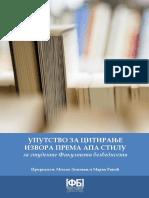 Uputstvo za citiranje izvora prema APA stilu.pdf