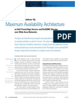 Maximum Availability Architecture