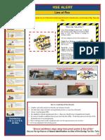 HSE Alert -Line of Fire Feb -18
