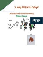 Lectut CYN-002 PDF Hydrogenation and Hydroformylation