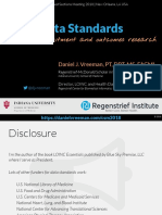 2018 02 - Data Standards for Recruitment and Outcomes Research