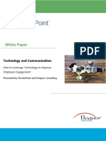 Whitepaper How to Leverage Technology to Improve Employee Engagement