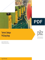PILZ-PNOZelog Technical Catalogue