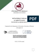 November Conference - PROGRAM 12th Draft