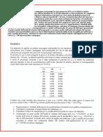 deposito argilla cedimento finale deltaH prelevato campione prova compressione edometrica forma cilindrica densità specifica terreno Gs tabella pressione verticale efficace entità cedimenti fasi consolidazione indice dei vuoti indice compressione