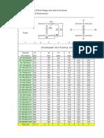 Standard Profile Inertia Calculation.xlsx