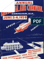 Alabama Air Show Poster (1939)