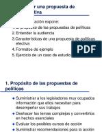Como Escribir Una Propuesta de Políticas Efectiva