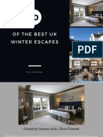 10 UK Winter Hotels