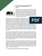 Procesos Dolorosos de La Educación Panameña