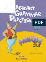 Welcome Plus 1 Vocabulary and Grammar Practice