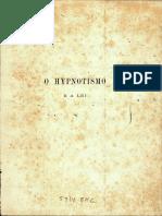 O Hypnotismo e a Lei