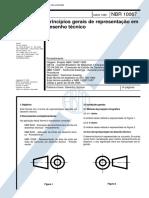NBR 10067 - Principios Gerais de Representacao Em Desenho Tecnico