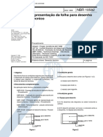 NBR 10582 - Apresentacao Da Folha Para Desenho