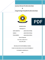 makalah pengelolaan laboratorium kimia