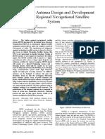 IRNSS Antenna Design Review