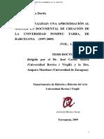 Tesis Sobre El Documental de Creacion en La Pompeu Fabra
