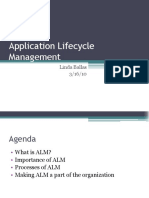 Application Lifecycle Stage