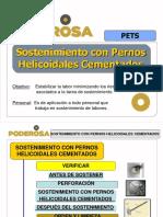 01.- Presentación - Sostenimiento Con Pernos Helicoidales Cementados (1)