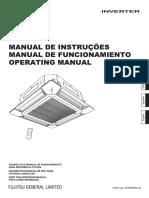 Manual Air Conditioner Fujitsu
