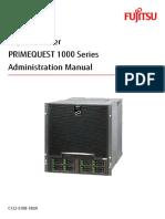 Fujitsu PQ 1000 Administration Manual