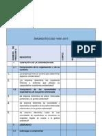 Check List - IsO 14001- 2015