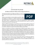 Comunicado_hmk Renuncia Del Puesto Hector Mayol Kauffmann
