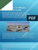 Importance of Masjid-E-Nimrah in Islam
