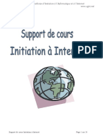 Cours Initiation Internet