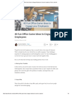 40 Fun Office Game Ideas to Engage Employees _ Susanna Varghese _ Pulse _ LinkedIn