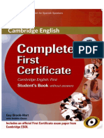 Complete First Certificate 3rd Edition 2