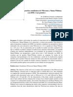 Aplicación de Las Pruebas Estadísticas de Wilcoxon y Mann