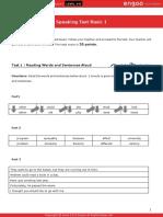Speaking Test Basic 01 ID