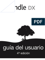 Kindle DX User's Guide 4th Edition Spanish