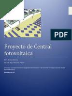 Proyecto de Inversión Para Una Central Solar