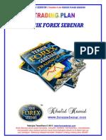 Teknik Forex Sebenar - Trading Plan