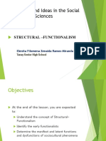 Structural Functionalism 170110133326