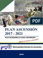 Plan de Desarrollo Local Concertado 2017-2021