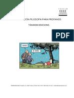 Coleccion filosofia para profanos Indice.pdf