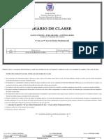 Diario de Classe - Santo Antonio - Ant.lemos