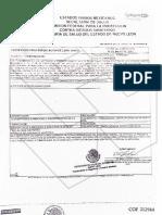 Certificado para la exportación de libre venta (Empresa DAI)