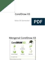 Mengenal CorelDraw X3