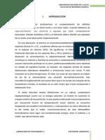 INFORME N° CALOR DE NEUTRALIZACION