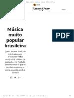 O Que Ouvem Os Brasileiros - Ilustrada - Folha de S
