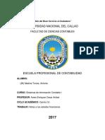 28.- MEDINA TORRES, ANTONIO - Nota a Los Estados Financieros