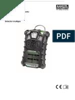 Detector de Gases Altair 4X