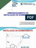 Dimensionamento de Instalação de Bombeamento