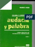 Audacia y Palabra - Maurice Ogier
