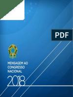 Mensagem Ao Congresso Nacional 2018